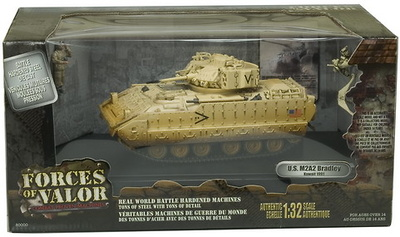 U.S. M2A2 BRADLEY, KUWAIT 1991, 1:32, Forces of Valor