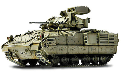 U.S. M3A2 BRADLEY, BAGHDAD 2003, 1:72, Forces of Valor