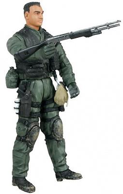 U.S. Navy Seal, Po1 Juan Trece, 1:18, Bravo Team