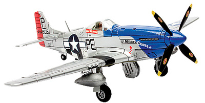 U.S. P-51D Mustang,  Britain, 1944 , 1:72, Forces of Valor