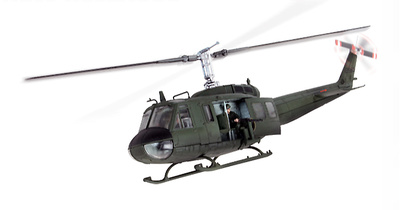 U.S. UH-1D HUEY, Vietnam, 1968, 1:48, Forces of Valor