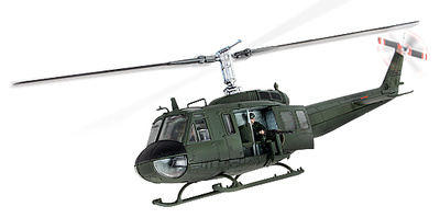 U.S. UH-1D HUEY® Vietnam, 1968, 1:48, Forces of Valor