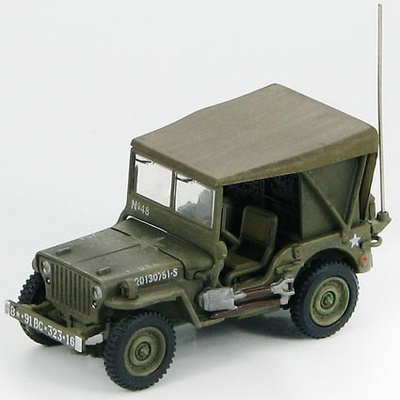 U.S. Willys Radio Jeep 8th USAAF, 91st Bomber Group, England 1943, 1:72, Hobby Master