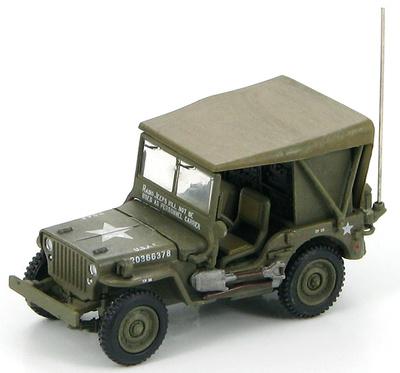 U.S. Willys Radio Jeep UASF, Korea 1950, 1:72, Hobby Master