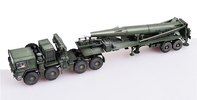 U.S. tractor Army M1001 and Tactile Missile Pershing II, 1st Battalion, Germany, 1988, 1:72, Modelcollect