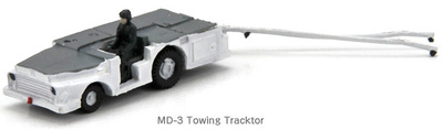 U.S.Navy, MD-3 Towing Tractor, White, 1:144, Century Wings