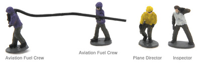 U.S.Navy Flight Deck Crew-4, 1:144, Century Wings
