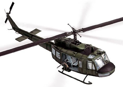 UH-1D Huey, U.S., Vietnam, 1968, 1:48, Forces of Valor
