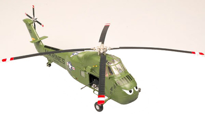 "UH-34D, USMC HMM-163, ""Evil Eyes"", 1:72, Easy Model"