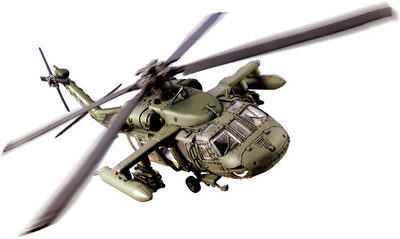 UH-60 Blackhawk, Kuwait 1991, 1:48, Forces of Valor