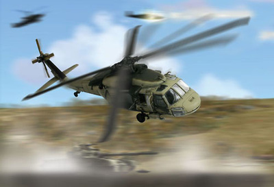 UH-60A Black Hawk Desert Storm, US Army 1991, 1:72, Forces of Valor