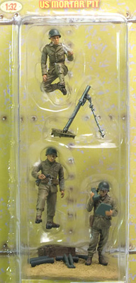 US Infantry, Mortar Section, 1:32, 21st Century Toys