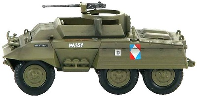 US M20 Utility Car Free French Army, 1:72, Hobby Master