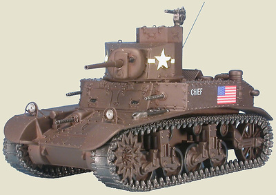 US M3 Stuart / Honey, 1st US Armored Div., Tunicia, Diciembre, 1942, 1:48, Gasoline