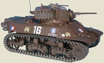 US M3A3 Stuart, 12e CUIR 2e DB Libération de Paris, 1944 1:48, Gasoline