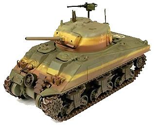 US M4 Sherman Tank, USMC Okinawa con figuras, 1:32, 21st Century Toys