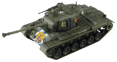 US M46 Patton Medium Tank 64th Tank Battalion, Río Imjin, Primavera 1951, 1:72, Hobby Master