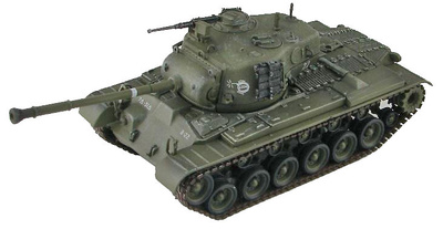 US M46 Patton Medium Tank 7th Infantry Division, 31st Infantry Rgt., Tank Company, 1951, 1:72, Hobby Master