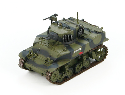 """US M5A1 Stuart """"Buddies"""" 3rd Armored Division, 1944-45, 1:72, Hobby Master"""