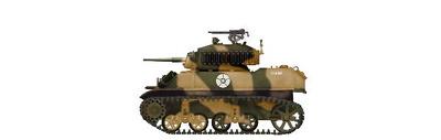 "US M5A1 Stuart ""Diana"" Rabat, Morocco, July 1943, 1:72, Hobby Master"