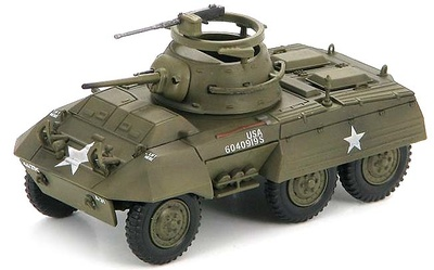 US M8 Light Amored Car A Troop, 1:72, Hobby Master