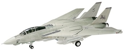 "US Navy F-14D Tomcat Fighter, VF-213 ""Black Lions"", 1:48, Franklin Mint"