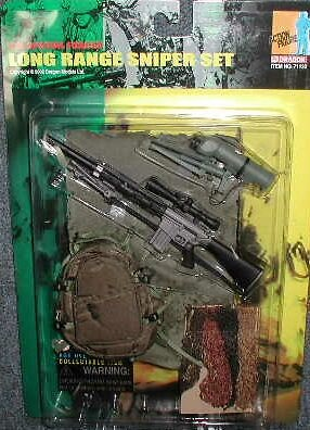 US Special Forces Long Range Sniper Set, 1:6, Dragon Figures