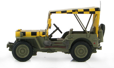 """US Willy's Jeep """"Follow Me"""" US Army Air Force, WWII, 1:48, Hobby Master"""