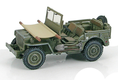 "US Willys Jeep USMC ""42908"", Okinawa, 1:48, Hobby Master"