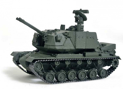 USA M247 Sergeant York, 1977-85, 1:72, Wespe Models