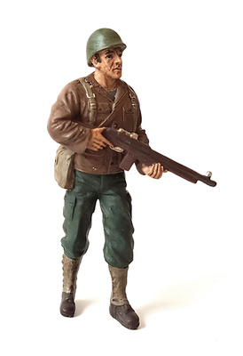 USA soldier, WWII, 1:18, American Diorama