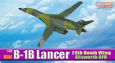 USAF B-1B Lancer, 28th Bomb Wing Ellsworth AFB, 1:400, Dragon Wings