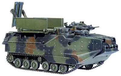 USMC AAV7A1 MICLIC LVTP7, Mine Clearance Vehicle Model, 1:72, Dragon Armor