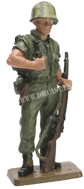 USMC Radio Operator, Vietnam Marines, Da Nang, 1966, 1:30, Del Prado
