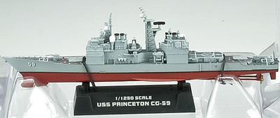 USS Princeton CG-59, 1:1250, Easy Model