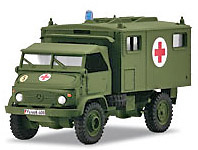 Unimog 404 S, Ambulancia, 1:87, Märklin