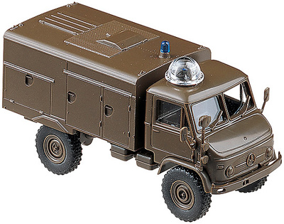 Unimog S 404 TroLF 750 Tank Fire Engine, 1:87, Minitanks