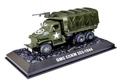 Us Army, GMC Truck 353, 1944, 1/72, Amercom