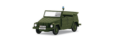"VW 181 ""Feldjäger"" police vehicle, German Federal Army, 1:87, Märklin"