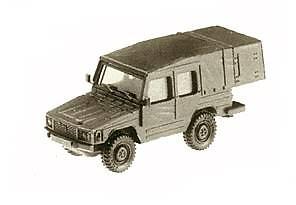 VW Iltis Ambulancia, Roco