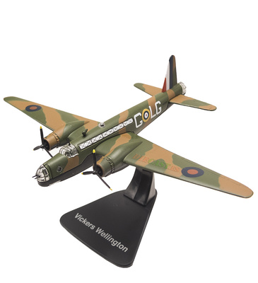 Vickers Wellington, Gran Bretaña, 1938/53, 1:144, Editions Atlas