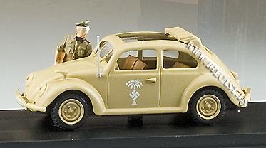 Volkswagen AK41, Afrika Korps c/figura, 1:43, Rio