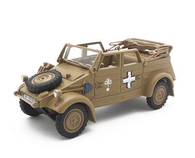 Volkswagen Kübelwagen Type 82, Afika Korps, 1:43, Cararama