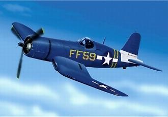 Vought F4U Corsair (US Marines VMF 351), 1:48, Franklin Mint