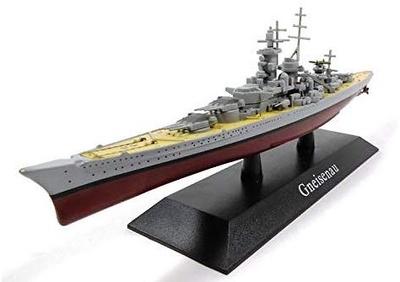 Warship Gneisenau, 1: 1250, DeAgostini