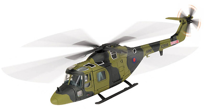 Westland Lynx AH.1, XZ666, 655 Sqn (The Scottish Horse), Army Air Corps, Operation Banner, Omagh, 1983, 1:72, Corgi