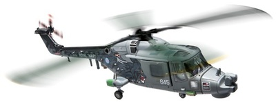 Westland Lynx HMA8 Black Cats Display Team, 702 NAS, Yeovilton, 2011-12, 1:72, Corgi