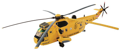 Westland Sea King, HRH Prince William Training Flight SAR, 2011, 22 Sqn, 1:72, Corgi