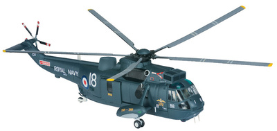 Westland Sea King HU-5, 771 NAS, Search and Rescue, RNAS Culdrose, 2009, 1:72, Corgi