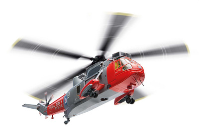 Westland Sea King HU.5, HMS Gannet, SAR Flight, Royal Navy, 2012, 1:72, Corgi